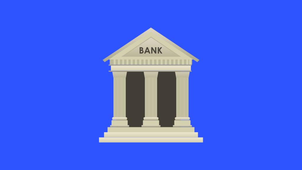 Bank illustrasjon