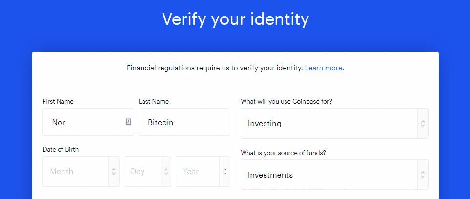 Verifiser identitet med personlig info