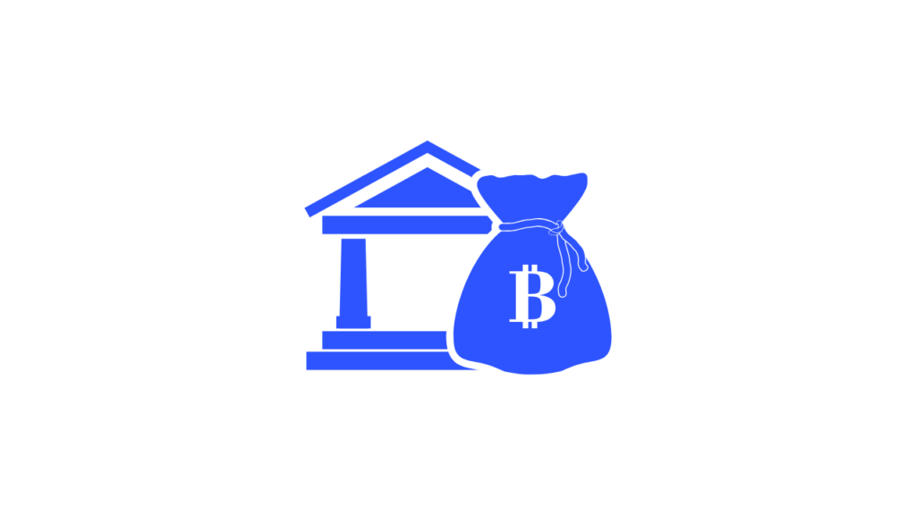Bitcoin børs illustrasjon