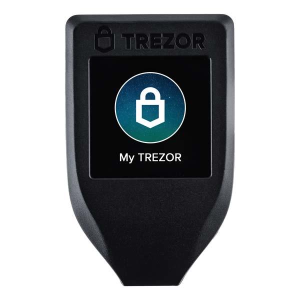 Bitcoin lommebok - Trezor Model T