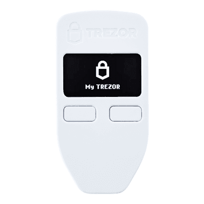 Bitcoin lommebok - Trezor Model One Hvit